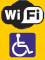 wheelchair accessible, Wi-Fi